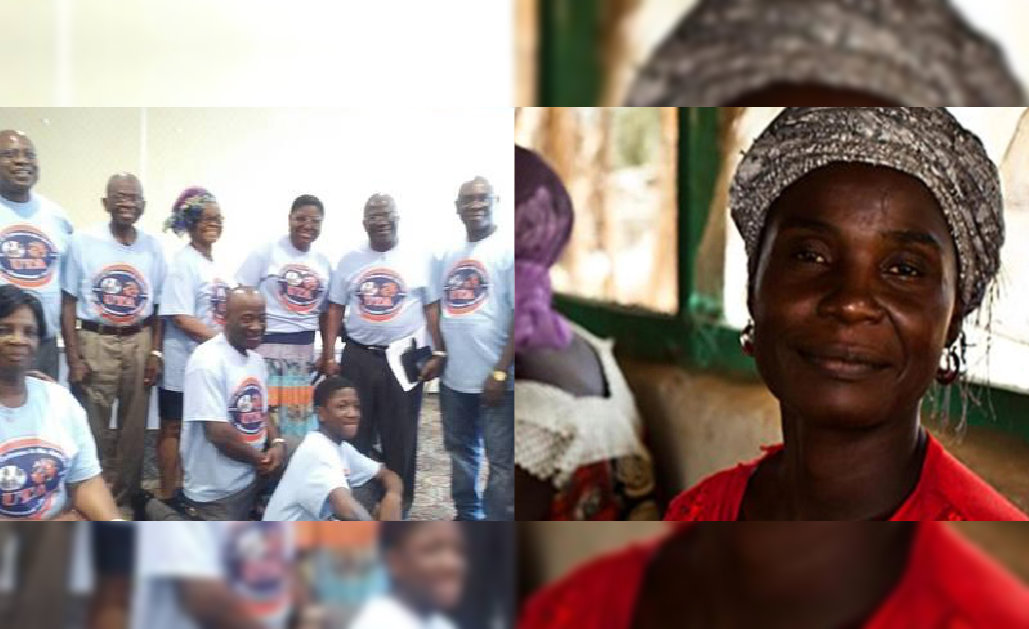 Union Of Todeeans group and a woman